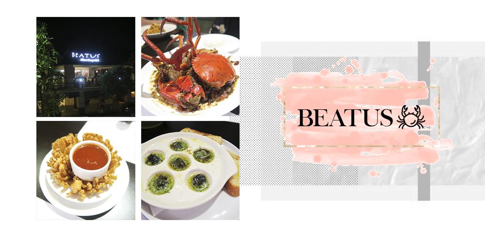 [Surabaya] Beatus – The Best Crab We've Ever Tasted
