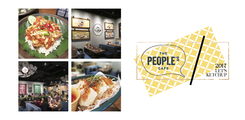 The People's Cafe – New Outlet @ Mall Taman Anggrek